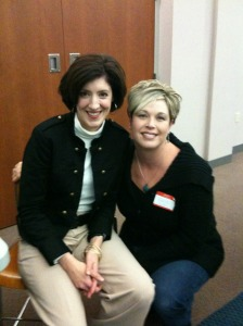 Me and Melissa at the event in Rochester, MN